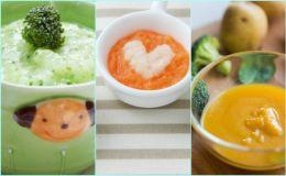 6 идеальных рецептов для первого прикорма