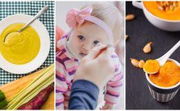 Детское пюре: 10 рецептов для малыша от 9-12 месяцев