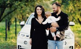 Джамала показала подросшего сына и его транспорт