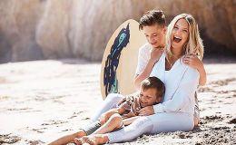 Беременная Кейт Хадсон устроила детскую вечеринку накануне родов
