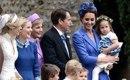 Семейный выход: Кейт Мидллтон с детьми побывала на свадьбе. Фото