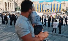 Николай Тищенко показал трогательное видео со своим сыночком