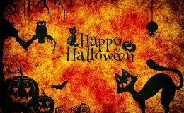 Хэллоуин 2018: страшные открытки и картинки