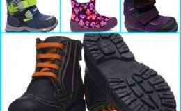 12 пар зимней обуви для маленьких ножек
