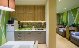 Старое помещение Охматдета превратилось в комфортную семейную комнату