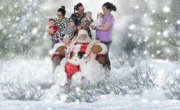 Магия Рождества: сказочный фотопроект к Рождеству с детками из больниц