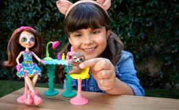Выберите куклу Enchantimals, получите счастливое предсказаниe и подарки!