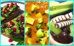 Зимние рецепты: 10 сладких и несладких блюд из авокадо