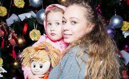 Зимние девочки: Яна Соломко поделилась новыми фото с дочкой
