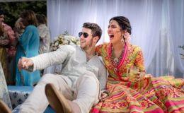Приянка Чопра вышла замуж: появились первые фото необычной свадбы