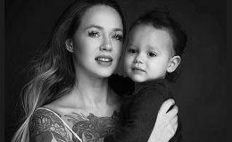 Как дева Мария: кормящая мать с младенцем в необычной фотосессии