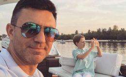 Николай Тищенко показал двоих сыновей