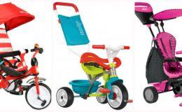 Детские велосипеды, беговелы: ТОП-10 лучших ценовых предложений этой недели