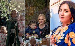 Поздравления с Пасхой: как украинские звездные семьи отмечали Пасху