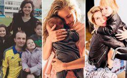 Украинские звездные мамы, которые удачно совмещают материнство и работу