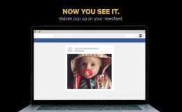 Создано расширение, блокирующее фото детей в ленте Facebook
