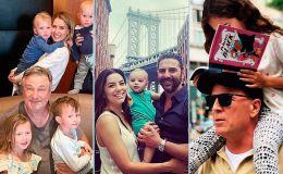 День отца: как звезды поздравили отцов и мужей