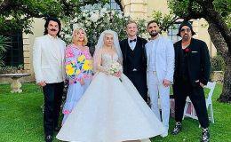 Как принцесса: Алина Гросу показала свадебные платья, в которых выходила замуж