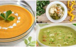 10 летних витаминных супов для малышей