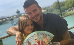 Дэвида Бекхэма осудили за трогательный поцелуй с дочкой