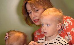 Мои Кравчата: Елена Кравец показала подросших близнецов
