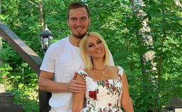 Лера Кудрявцева показала маленькую дочку и молодого мужа