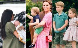 Меган Маркл и Кейт Миддлтон с детьми вместе вышли в свет: фото