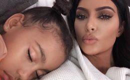 Ким Кардашьян раскритиковали за «взрослые» серьги для 6-летней дочери