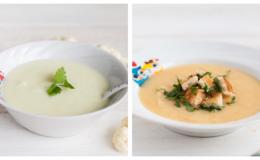 10 рецептів супів для дітей від 10 місяців