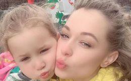 Яна Соломко показала подросшую дочку милашку