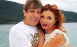 Редкий кадр: Степан Казанин с женой и сыном