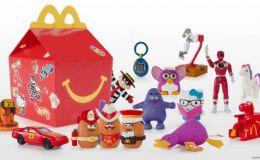 МакДональдз представив лімітовану колекцію ретро-іграшок Хеппі Міл