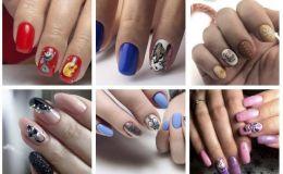 Красивые ноготки: 50 вариантов новогоднего маникюра с мышками
