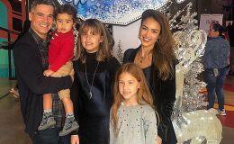 Джессика Альба вывела в свет всю свою большую семью