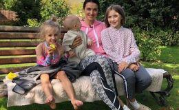 Валентина Хамайко поздравила сына с первым Днем рождения