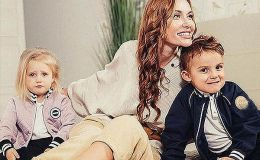 Слава Каминская поздравила детей с днем рождения