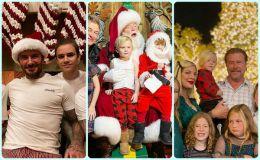 Как звездные родители поздравляют с Рождеством
