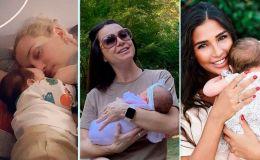 Подводя итоги: звезды, которые родили детей в 2019-м