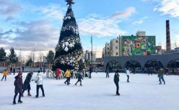 Новогодние катки в Киеве под открытым небом: где покататься на коньках