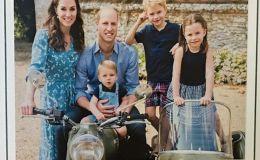 Счастливая семья: Кейт Миддлтон показала новые фото всех детей