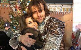 Муж Анастасии Заворотнюк вынес годовалую дочь на лед: так трогательно