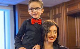 Так трогательно: Ольга Цибульская поздравила сына с днем рождения