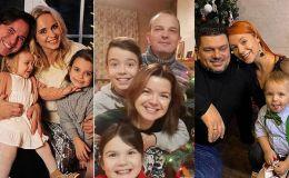 С Новым годом: поздравления от звездных родителей