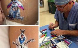 Не только шрамы: как хирург разрисовывает послеоперационные повязки