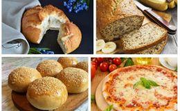 10 простых рецептов вкусного домашнего хлеба