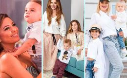 15 звездных мам, которые не прячут своих маленьких детей