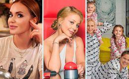 Звездный карантин: как украинские звездные родители проводят время дома