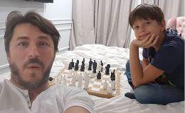 Провел малого в школу: Сергей Притула поделился видео с сыном