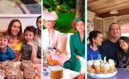 Как украинские звездные семьи с Пасхой поздравляли