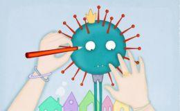 Перша дитяча книжка про коронавірус – завантажуйте безкоштовно!